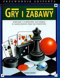 Okładka książki Gry i zabawy