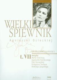 Okładka książki Wielki śpiewnik Agnieszki Osieckiej t.7