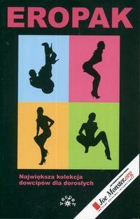 Okładka książki Eropak. Największa kolekcja dowcipów dla dorosłych