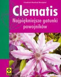 Okładka książki Clematis najpiękniejsze gatunki powojników
