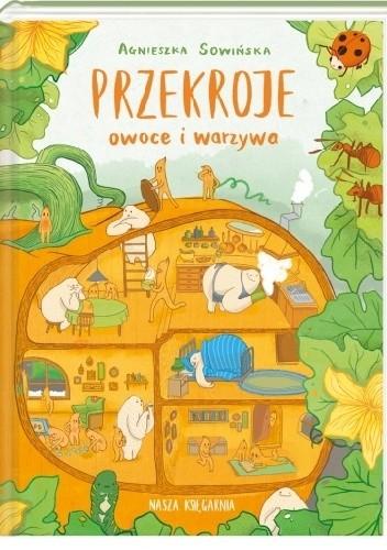 Okładka książki Przekroje: owoce i warzywa