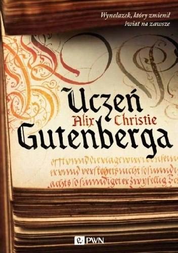Okładka książki Uczeń Gutenberga