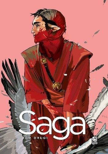 Okładka książki Saga. Tom Drugi