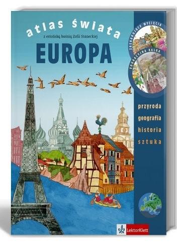 Okładka książki Atlas Świata. Europa