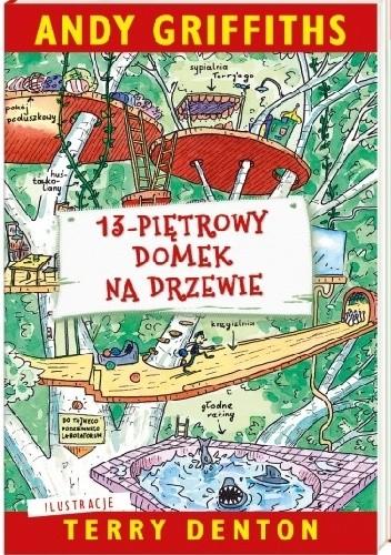 Okładka książki 13-piętrowy domek na drzewie