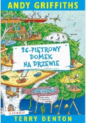 Okładka książki 26-piętrowy domek na drzewie