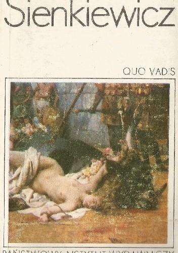 Okładka książki Quo vadis t. I