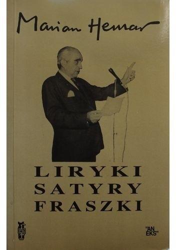 Okładka książki Liryki, satyry, fraszki