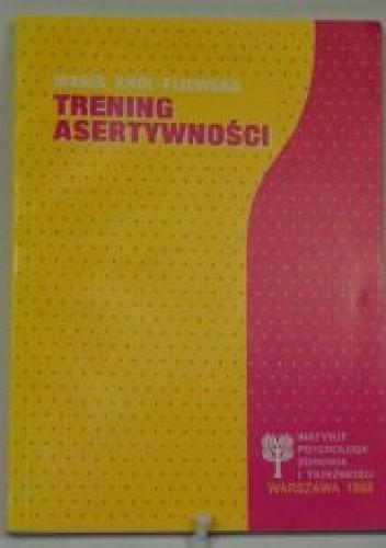 Okładka książki Trening asertywności.