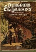 Creature Catalogue