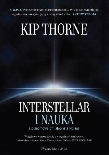 Okładka książki Interstellar i nauka