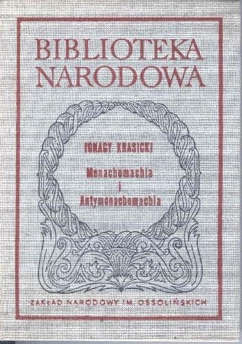 Okładka książki Monachomachia i Antymonachomachia