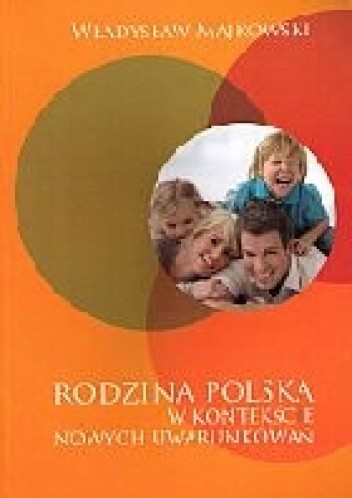 Okładka książki Rodzina polska w kontekście nowych uwarunkowań