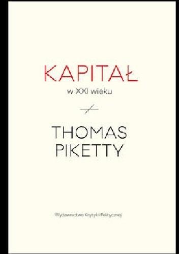 Okładka książki Kapitał w XXI wieku