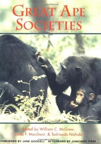 Okładka książki Great Ape Societies