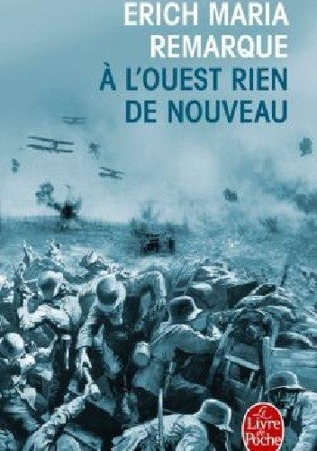 Okładka książki À l'ouest rien de nouveau