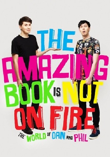 Okładka książki The Amazing Book is Not on Fire