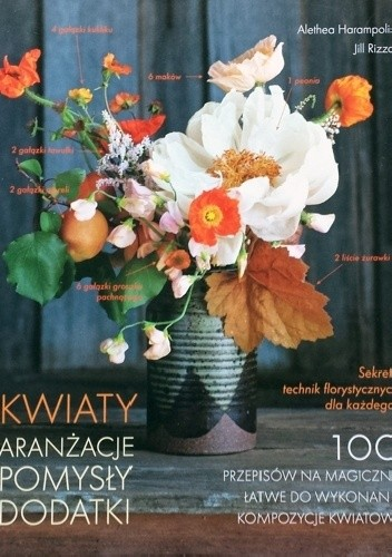 Okładka książki Kwiaty. Aranżacje, pomysły, dodatki