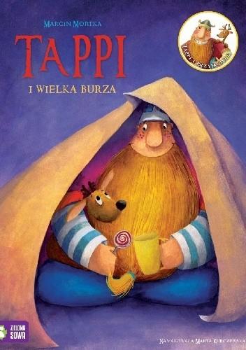 Okładka książki Tappi i wielka burza