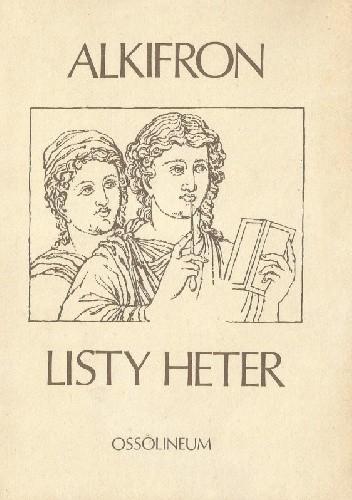 Okładka książki Listy heter