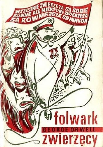 Okładka książki Folwark zwierzęcy