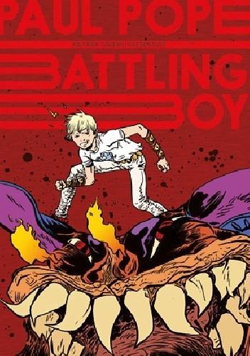 Okładka książki Battling Boy