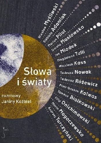 Okładka książki Słowa i światy. Rozmowy Janiny Koźbiel