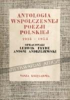 Antologia polskiej poezji współczesnej 1918-1938