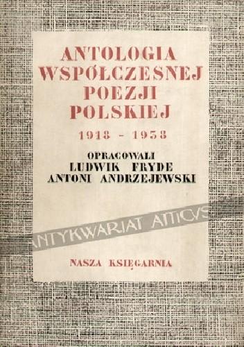 Okładka książki Antologia polskiej poezji współczesnej 1918-1938