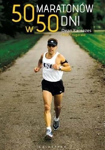 Okładka książki 50 maratonów w 50 dni