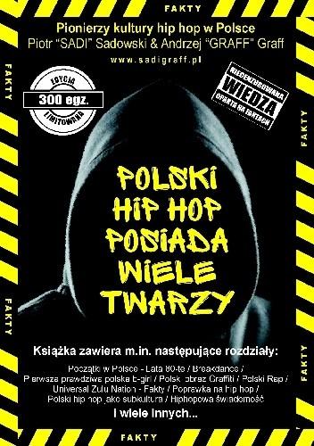 Okładka książki Polski Hip Hop posiada wiele twarzy