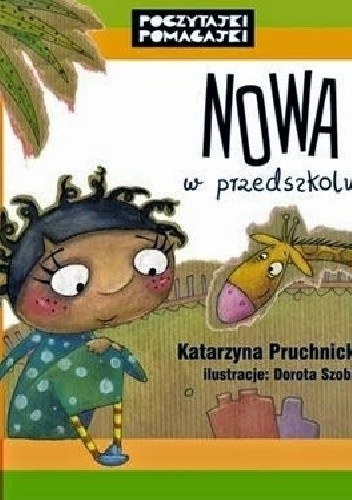 Okładka książki Nowa w przedszkolu