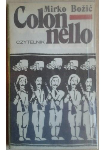 Okładka książki Colonnello