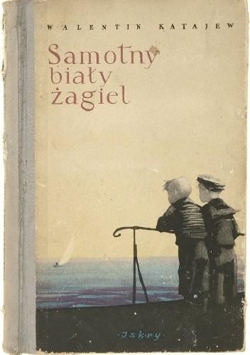 Okładka książki Samotny biały żagiel
