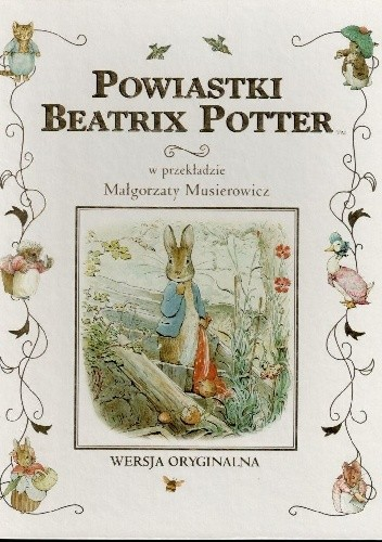 Okładka książki Powiastki Beatrix Potter