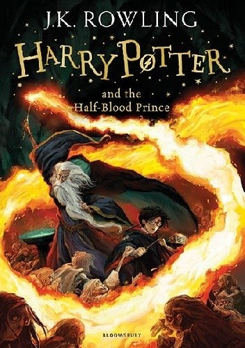 Okładka książki Harry Potter and the Half-Blood Prince