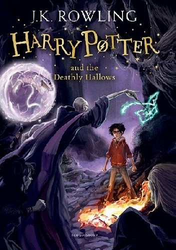 Okładka książki Harry Potter and the Deathly Hallows