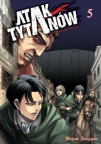Okładka książki Atak Tytanów tom 5