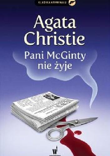 Okładka książki Pani McGinty nie żyje
