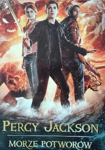 Okładka książki Percy Jackson i Bogowie Olimpijscy. Morze Potworów