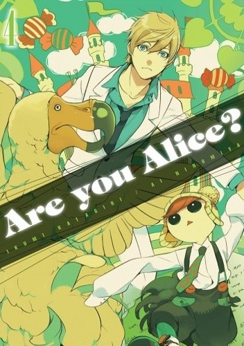 Okładka książki Are You Alice? tom 4