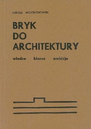 Okładka książki Bryk do architektury