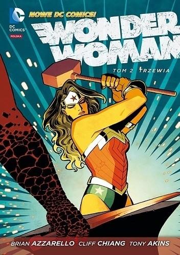 Okładka książki Wonder Woman: Trzewia