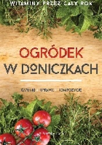 Okładka książki Ogródek w doniczkach