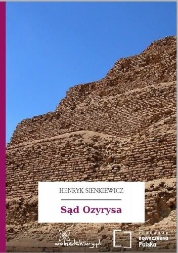 Okładka książki Sąd Ozyrysa