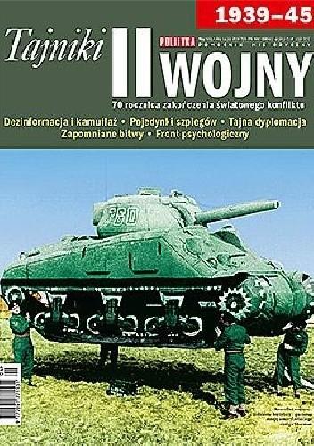 Okładka książki Tajniki II wojny światowej