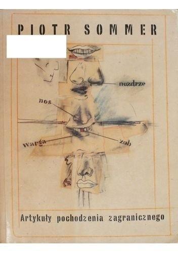 Okładka książki Artykuły pochodzenia zagranicznego
