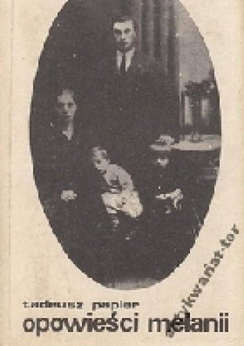 Okładka książki Opowieści Melanii