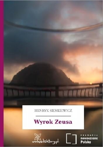Okładka książki Wyrok Zeusa