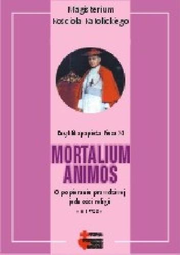 Okładka książki Mortalium animos (O popieraniu prawdziwej jedności religii)